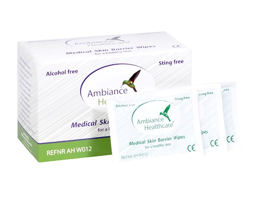 ambiance medical skin barrier wipes